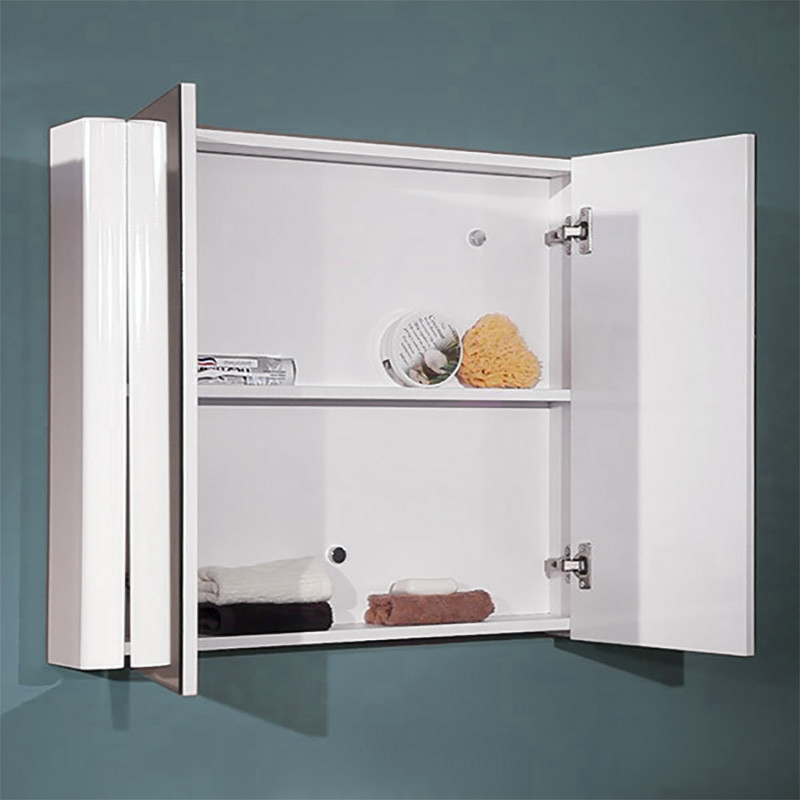 Voss 750 Double Door Mirror Cabinet 650 H 750 W 130 D