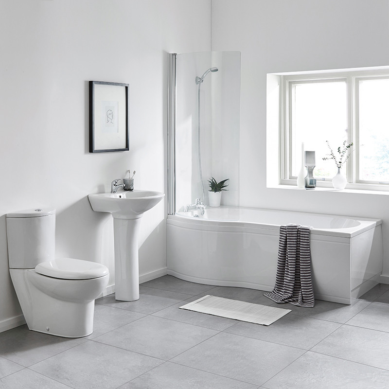 1700 Prima Left Hand Shower Bath Suite