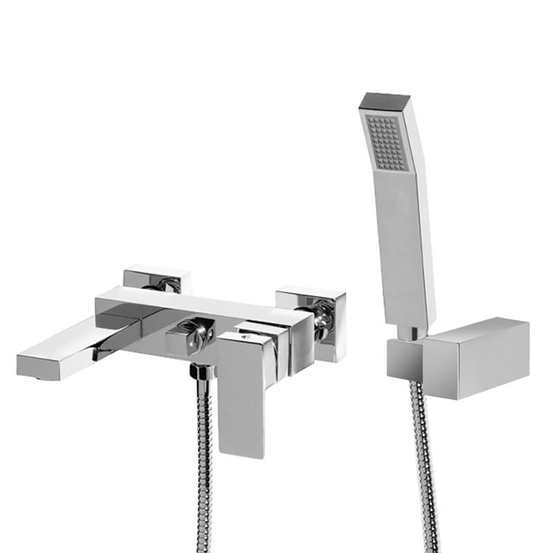 Cube Wall Mounted Bath Shower Mixer