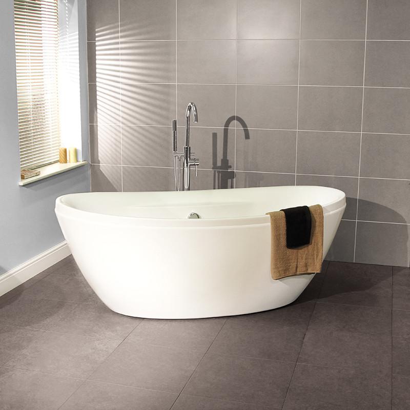 Duo 1750 X 840 Freestanding Oval Bath