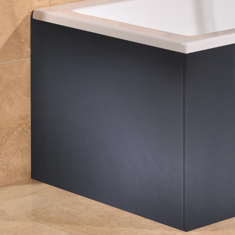 Windsor Cuba Aspen Grey L Shape Bath Mdf End Panel