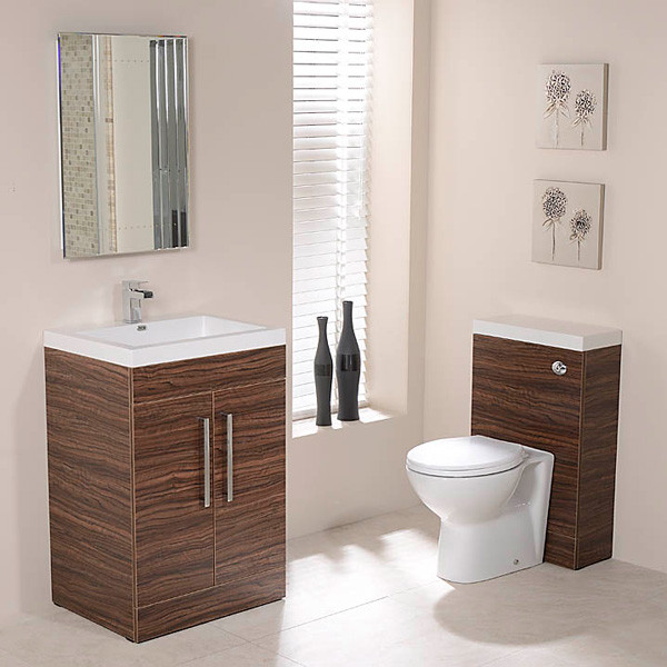 Td60 luxury walnut tampatm combination pack for Tampa bathroom showrooms