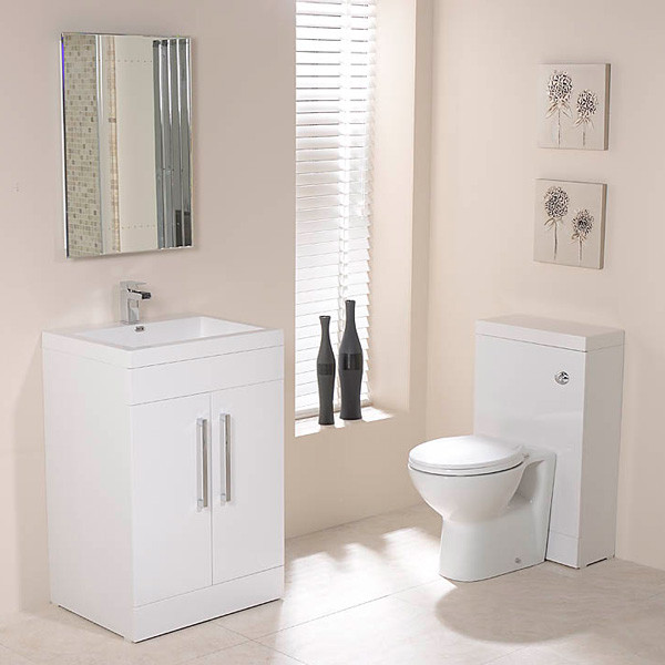 Td60 luxury white tampatm combination pack for Tampa bathroom showrooms