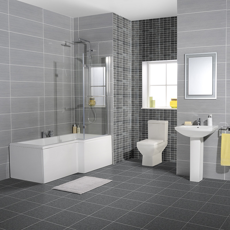 Tabor 1700 Bathroom Suite Including Taps And Waste