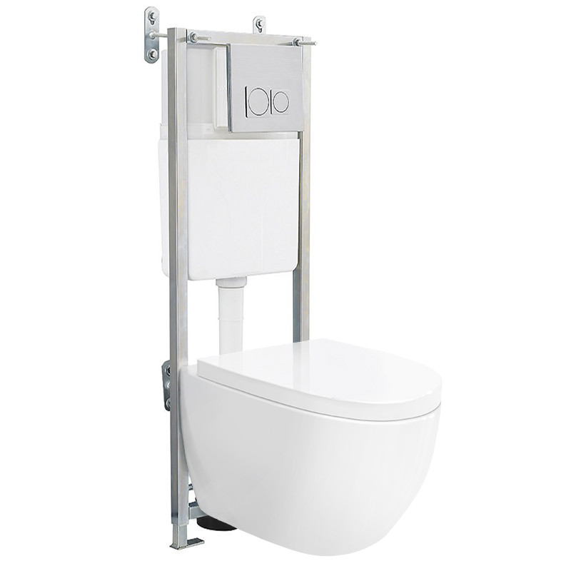 Venus Wall Hung Toilet With Fixing Frame