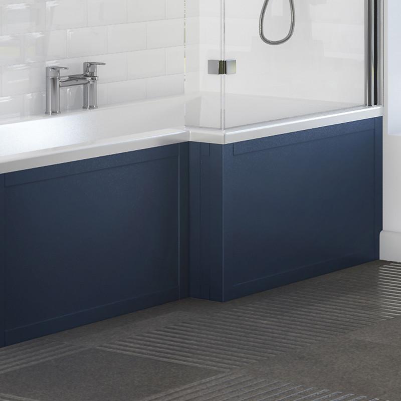 Nottingham Indigo Blue L Shape Front Panel