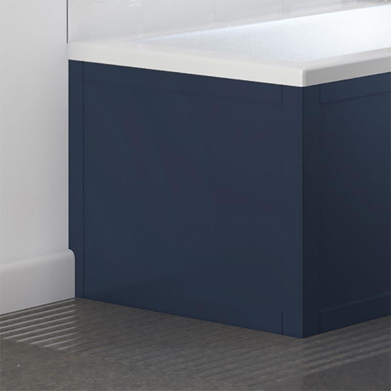 Nottingham Indigo Blue L Shape End Panel