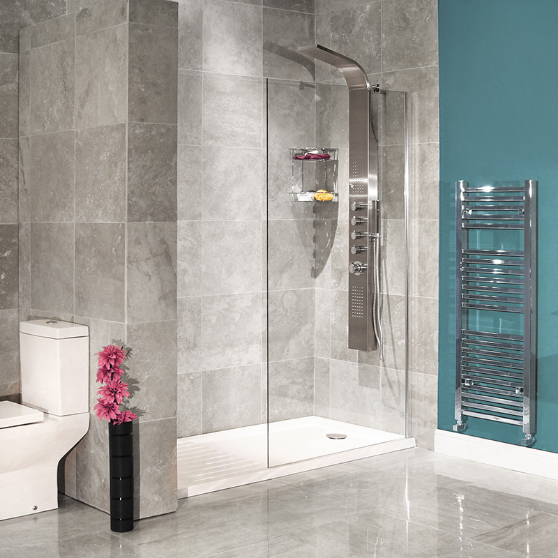 1850 x 900 walk in glass shower screen - Walk in glass shower enclosures ...