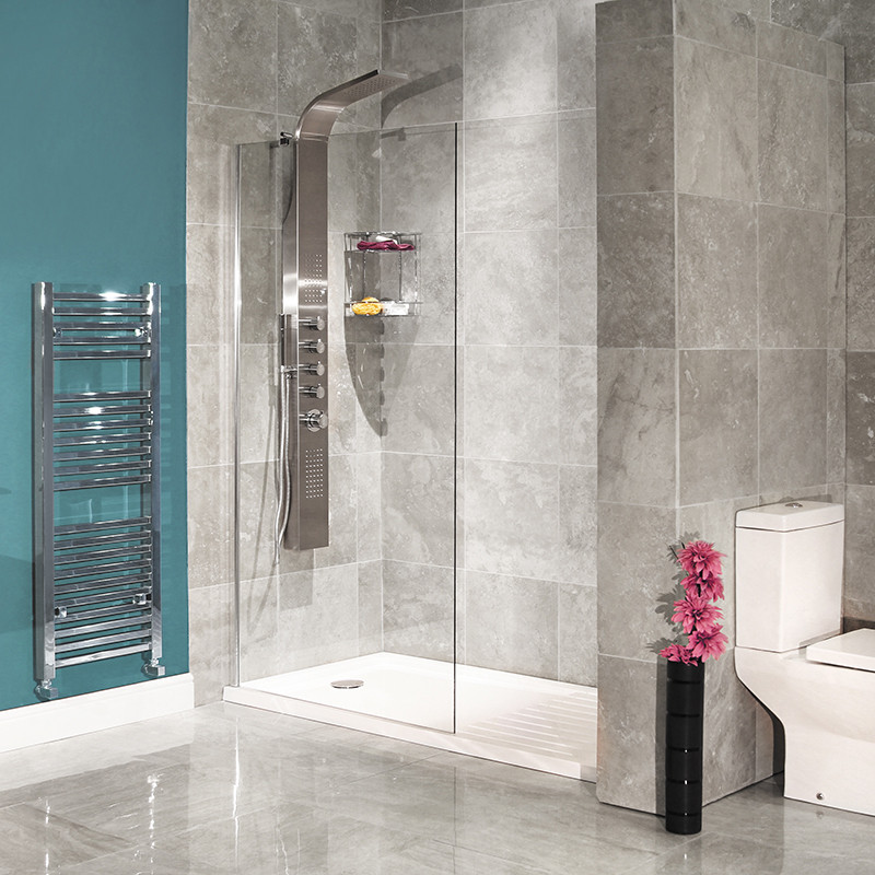 1850 X 1000 Walk In Glass Shower Screen