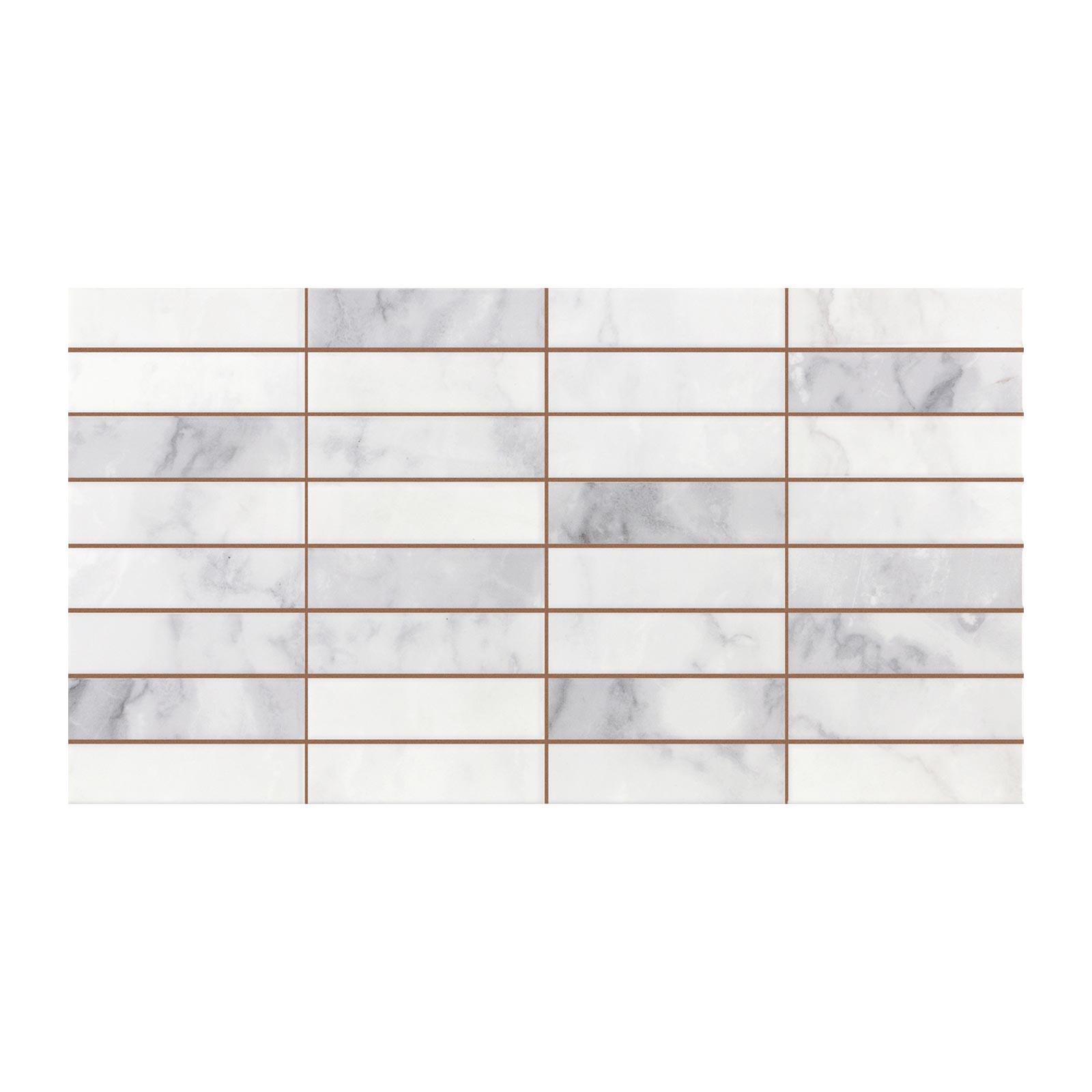 Carrara Brillo Pre Scored Wall Tile