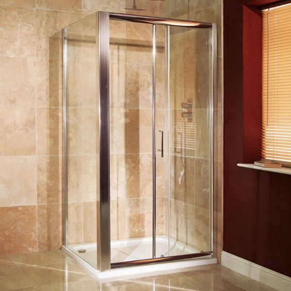 Aquafloe 6mm 1000 X 760 Sliding Door Shower Enclosure