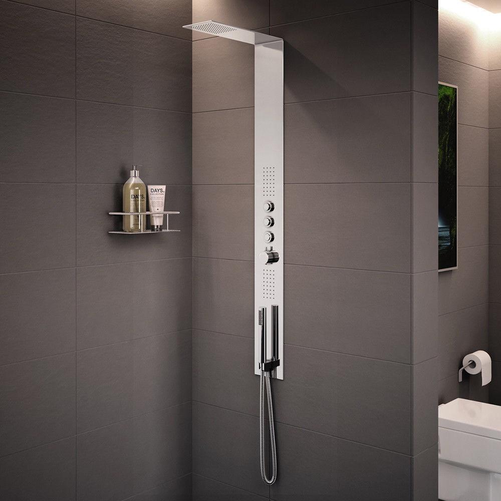 Trembor Luxury Thermostatic Shower Tower Panel