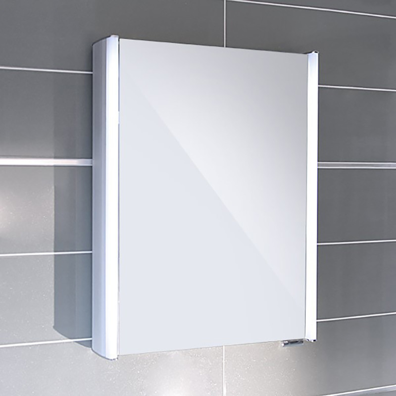 illuminated bathroom mirror cabinets ora illuminated mirrored cabinet 17774