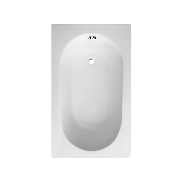 Impressions compact 1200 x 700 single ended bath for Small baths 1200
