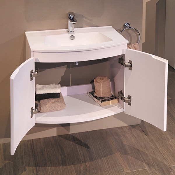 wall hung vanity basins