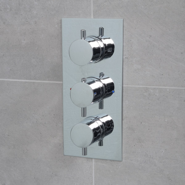S9 Concealed Triple Control Thermostatic Shower Valve