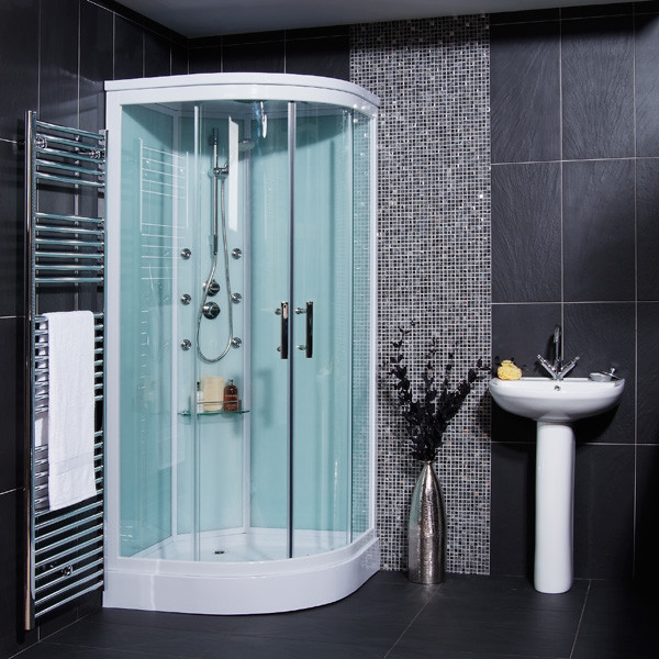 Aqualine Hydromassage Shower Cabin With 6 Body Jets