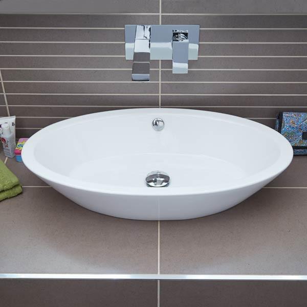 Bathroom Counter And Sink Combo: Atlantis Countertop Basin