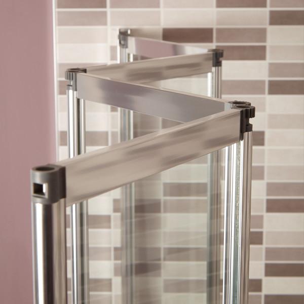shower screen bath fold screens straight