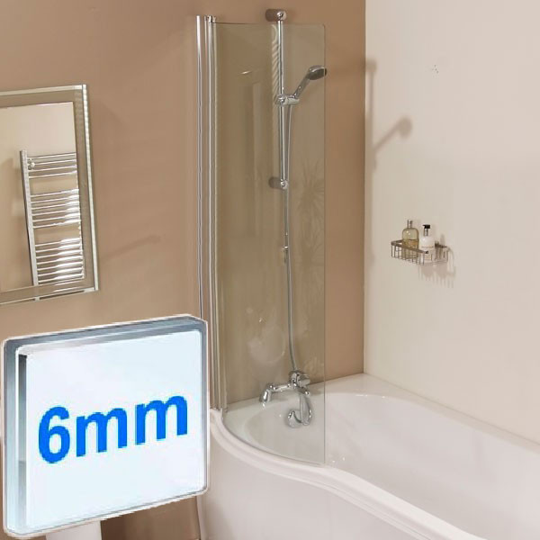 1500 x 850 Left Hand Air Spa Shower Bath