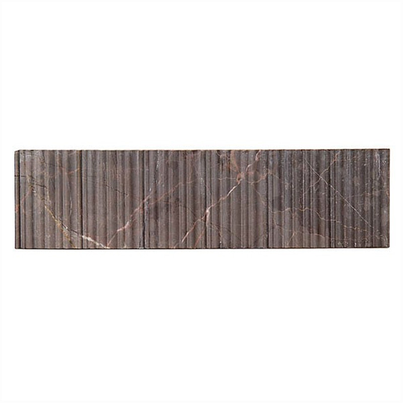 Bamboo Tiles For Bathroom: Fantastic Brown Bamboo Borders Wall Tile