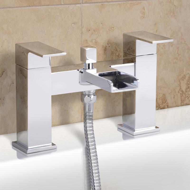 Quadra Waterfall Bath Shower Mixer Tap