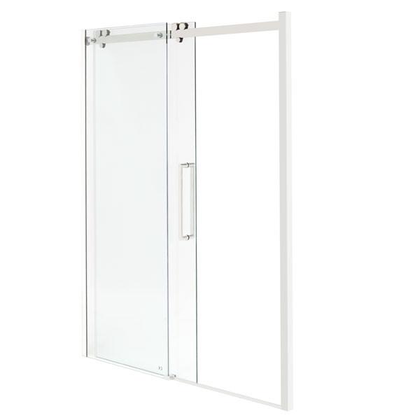 Trinity premium 10mm right hand 1700 frameless sliding door for 1700 high shower door