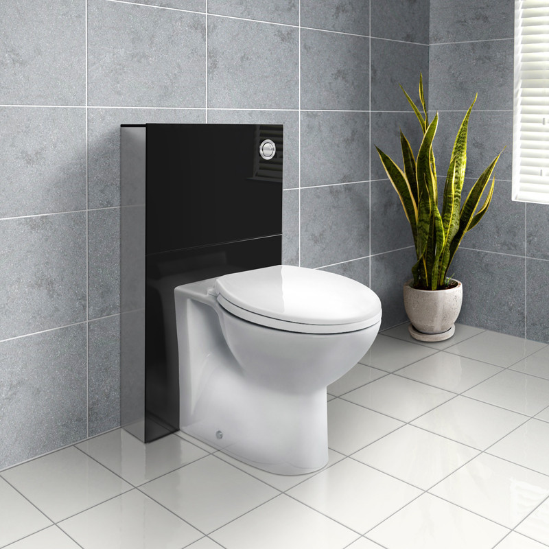 Deluxe Wc Unit And Concealed Cistern With Tampa Back To Wall Toilet