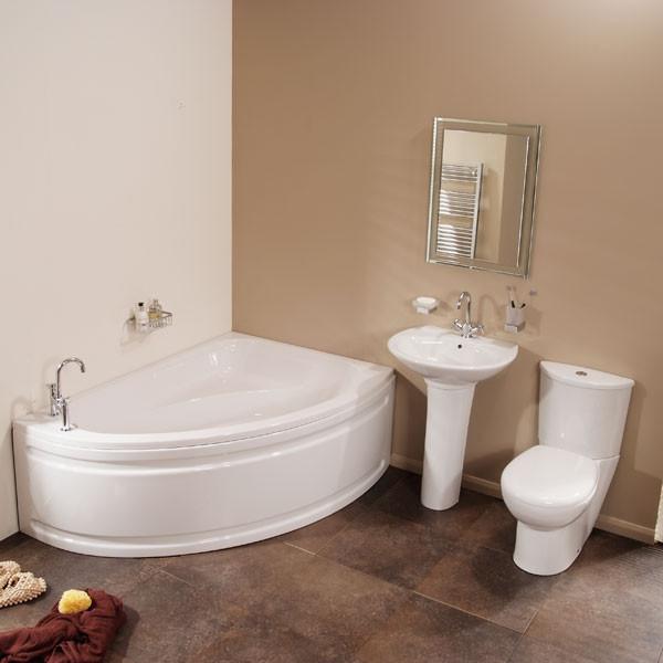 Marvelous Vienna Right Hand Corner Bathroom Suite