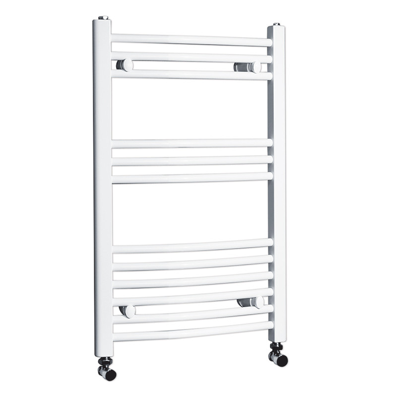 white electric towel rails for bathrooms beta heat 760 x 500mm curved white heated towel rail 25886