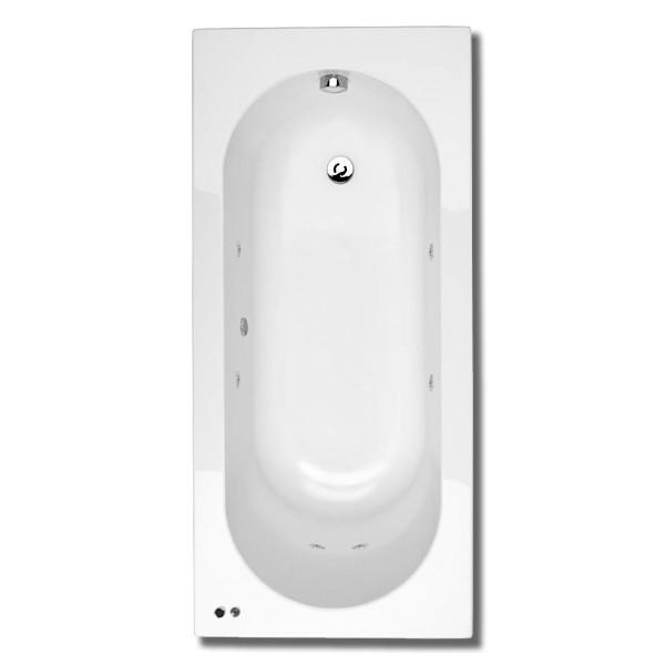 1500 x 700 mono 6 jet whirlpool bath for Small baths 1500