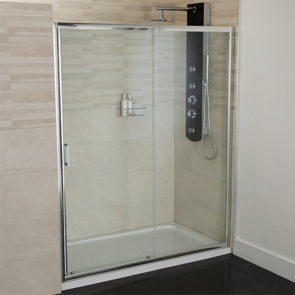 Aqualine 4mm 1400 Sliding Shower Door