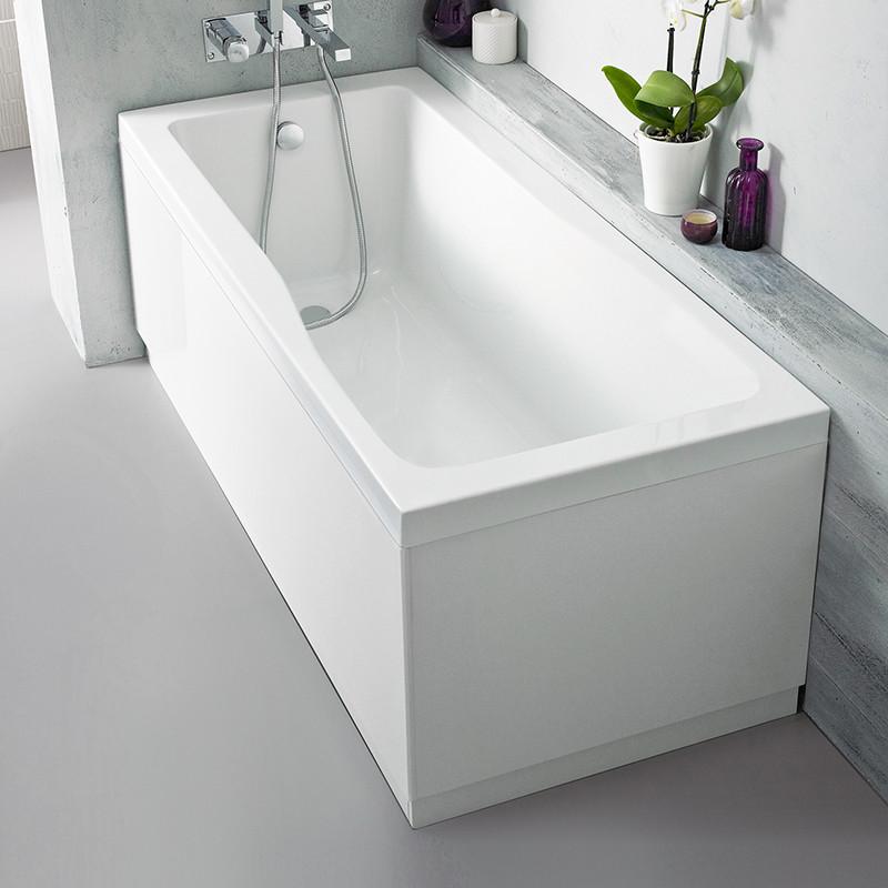 Austin 1700mm White Gloss Front Bath Panel