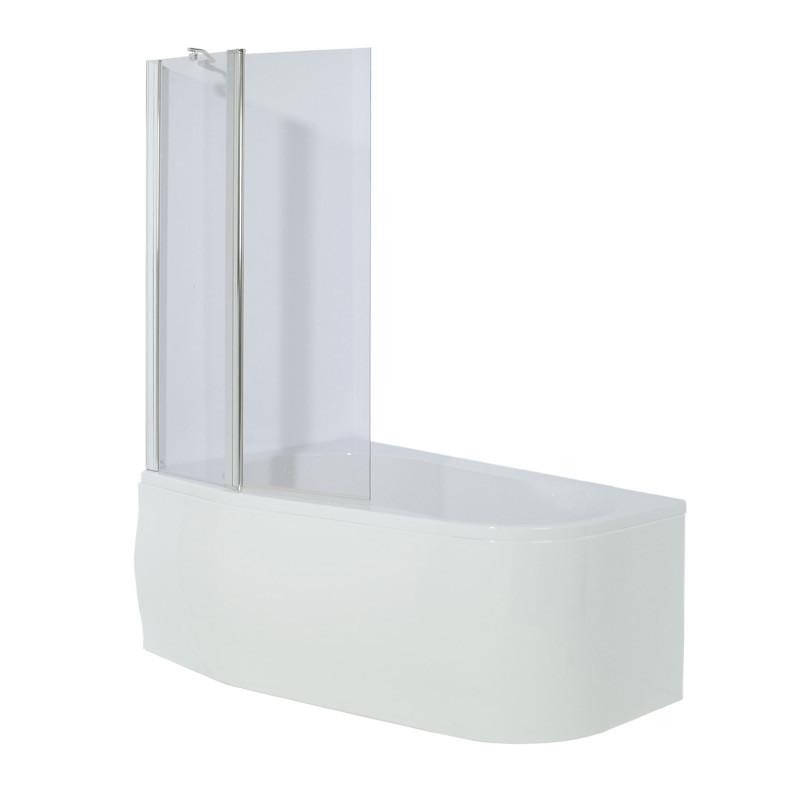 Prima 1500 X 900 Offset Left Hand Corner Shower Bath