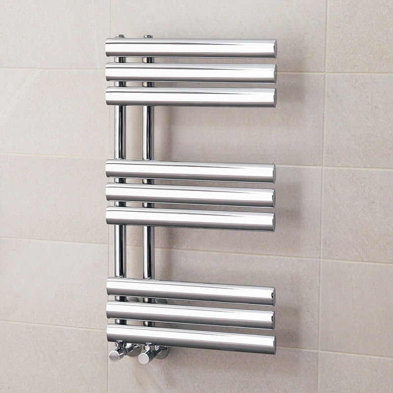 Finesse Designer 800 X 450mm Chrome Heated Towel Rail Part 47