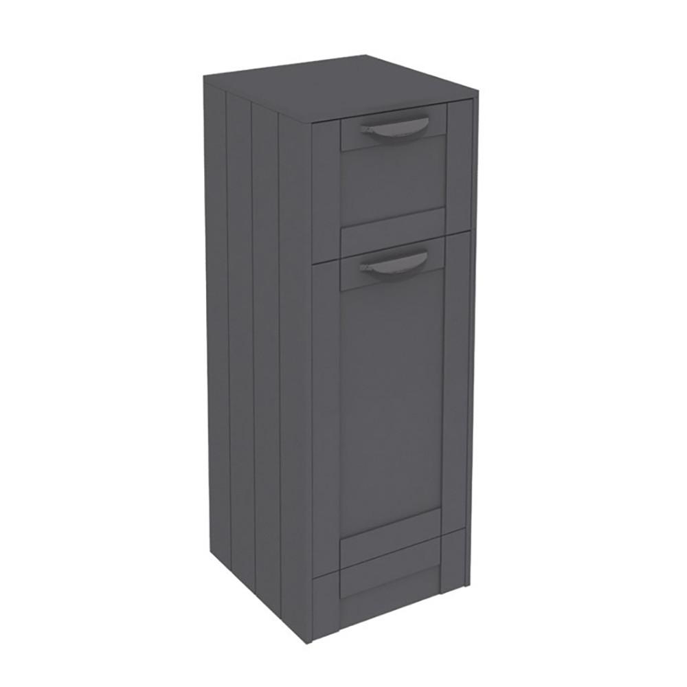 Nottingham Grey Single Door Amp Drawer Storage Unit