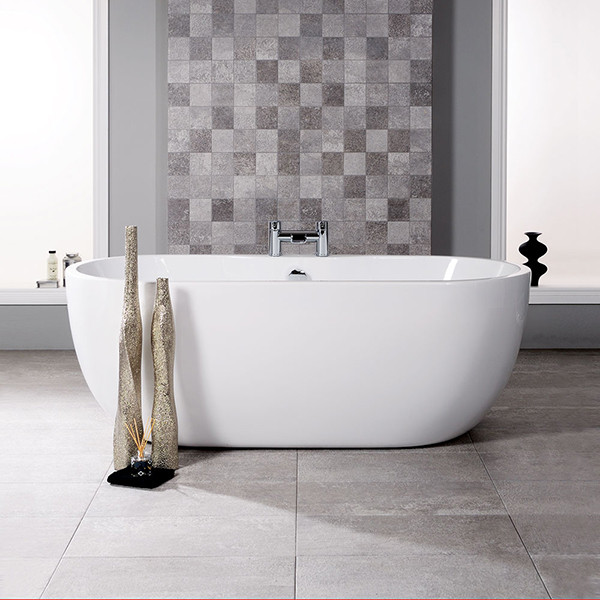 Lisbon 1550 x 750 Luxury Freestanding Bath. Roll Top Bath Waste Problems. Home Design Ideas