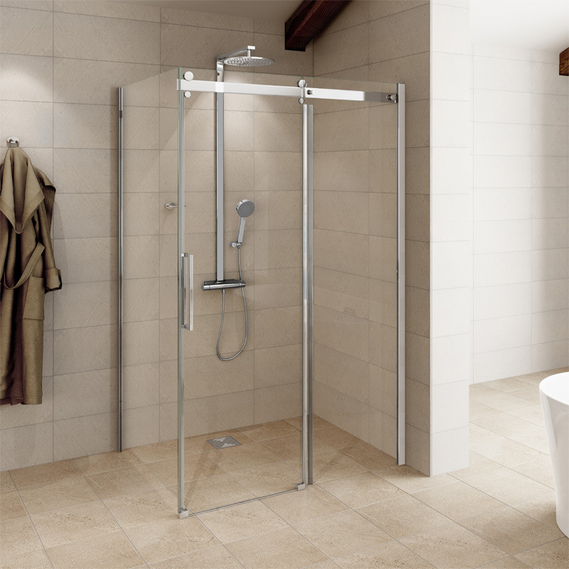 1200 x 800 Aquafloe Elite ll 8mm Sliding Shower Enclosure