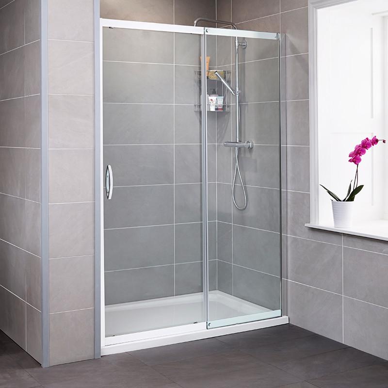 Aquafloe Iris 8mm 1100 Sliding Shower Door