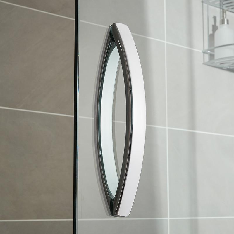 Aquafloe iris 8mm 1500 sliding shower door for 1500 sliding shower door