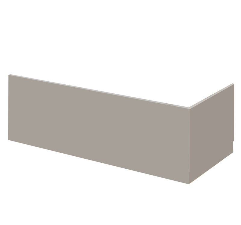grey bathroom tile premier athena grey 800mm bath end panel 13034