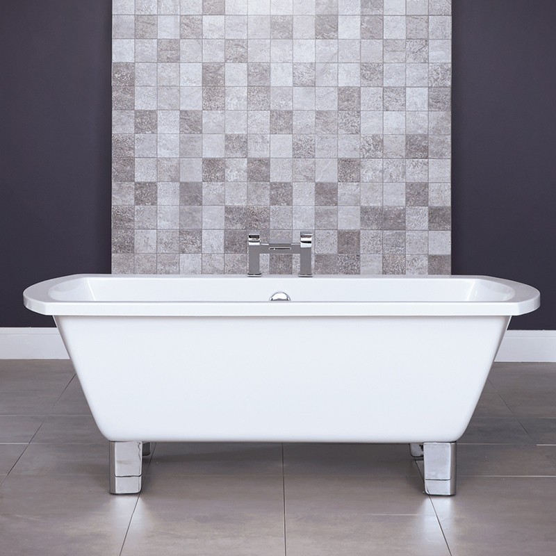 Tabor™ 1670 x 750 Freestanding Bath with Modern Feet