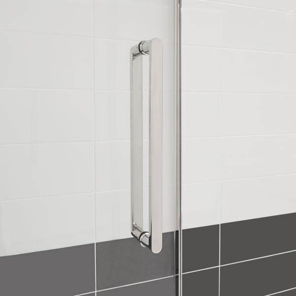 Trinity premium 10mm right hand 1700 frameless sliding door for 1700 shower door