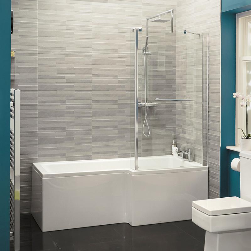 Veneto Verona Right Hand Shower Bath Suite