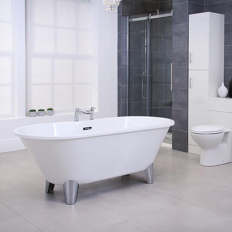 Voss 1650 X 740 Freestanding Bath