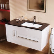 Eden 100 Wall Mounted Vanity Unit