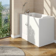 Princeton Easy Access 1210 x 650mm Deep Soak Walk In Bath