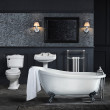1700 Park Royal Victoriana Bath Suite with Kent Taps and Wastes