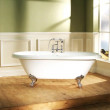 1700 x 750 Park Royal™ Traditional Double Ended Bath with Bath Waste