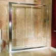 Aquafloe™ 6mm 1700 x 760 Sliding Door Shower Enclosure